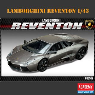 Reventon 1 43 Academy Model Kit Interior Super Sports Car Decor