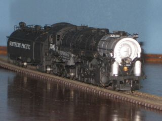 Pacific 2 8 4 with a whaleback tender and Tsunami Sound DCC decoder