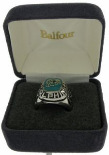 Balfour Ring Boxed Football Offical NFL Miami Dolphins Sz 8
