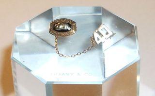 Vintage 10K Gold 1940 Ballard High School Class Pin