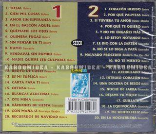 Celio Gonzalez Con La Sonora Matancera 40 Exitos 2 CD