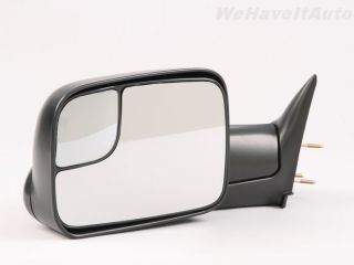 Manual Driver LH DS camper Tow Towing Side View Mirror Fold Out