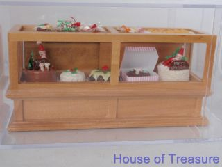 Happy Memories Box French Bakery Dolls House Furniture Collectors Item