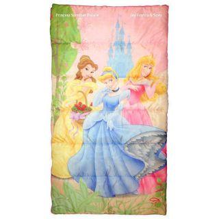 Disney Princess Pink Slumber Bag Backpack Sleeping Bag   Party Bedding
