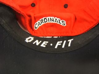 Cap Ball State Cardinals NCAA One Fit Youth Large New
