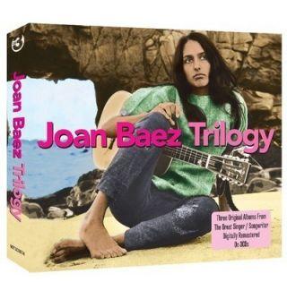 Joan Baez TRILOGY Three Origiinal Albums 37 Tracks REMASTERED New