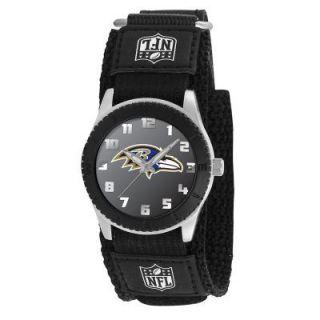 Baltimore Ravens NFL Football Wrist Watch Velcro Strap Wristwatch Kid