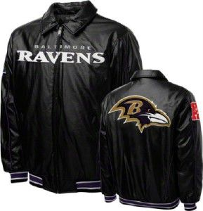 Baltimore Ravens NFL Black Varsity Jacket by G III XL NWT FREE
