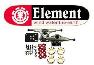 Element Skateboards Section Complete Skateboard Black