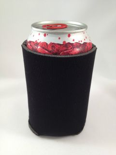 Pack Black Foam Beer Drink Beverage Soda Can Koozies Coozies Coolers