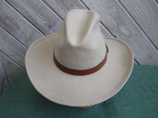 Bailey Mens Tan Callahan Cowboy Western Hat 7 3 8