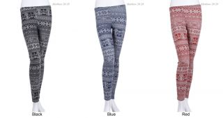 Tribal Print Leggings Tights Skinny Pants Spandex Various Size and