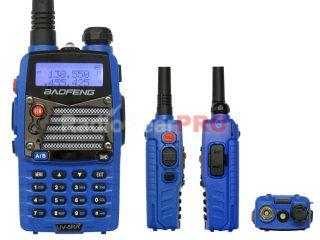 Blue BAOFENG Dual Band Radio UV 5RA Plus VHF UHF 136 174 400 480 UV 5R