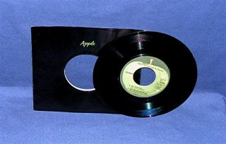 Ravi Shankar Joi Bangla 45 RPM Apple 1838 NM UNPLAYED