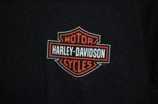 Harley Davidson Laidlaws Baldwin Park T Shirt Mens XL