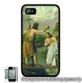 Saint St John Baptist Painting Photo Apple iPhone 4 4S Case Cover Skin