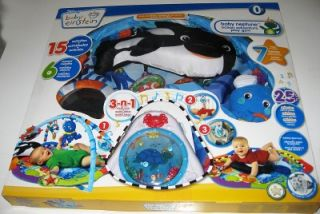 New Baby Einstein Deluxe Play Gym Activity Toy Mat Neptune Ocean
