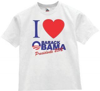 shirt I love Barack Obama president of the united states re