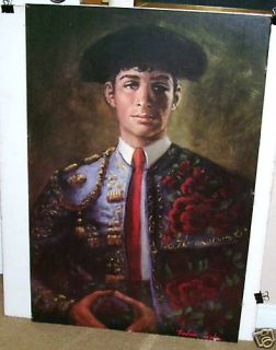 Barbara Weber Matador Bull Fighter Huge Poster Print