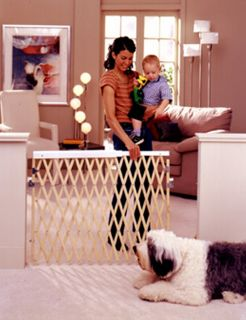 North States Expansion Swing Gate Baby Child Pet Safety