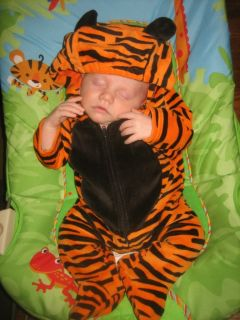 costume baby tiger and New Carters Onesie First Halloween 0 3 months