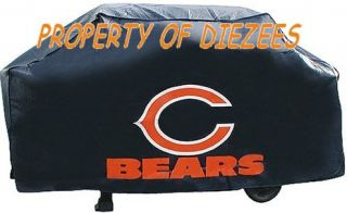 Chicago Bears NFL BBQ Gas Grill Cover w Logo GR8 Gift