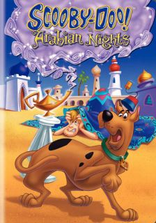 Hanna Barbera Scooby in Arabian Nights DVD re Pkg Eco 883929087020