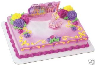 Barbie 3 Musketeers Princess Cake Decorating Topper