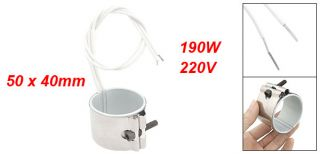 220V 190W 50 x 40mm Heating Element Band Heater for Plastic Injection
