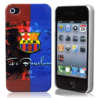 Fc Barcelona Football Club Team Hard Back Case Cover for i Phone 4G/4S