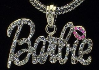 new hematite barbie pendant nicki minaj necklace