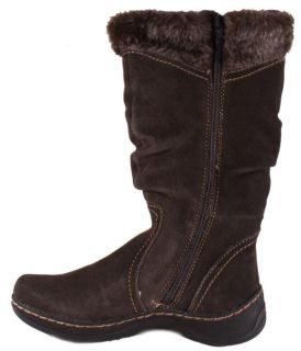 Bare Traps Ellery Womens Dark Grey Knee High Winter Boots Medium