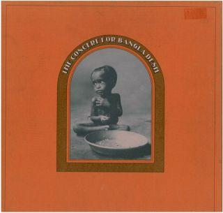 George Harrison Concert for Bangla Desh 3 LP Box Set