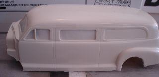 1948 Chevrolet Barnette Hearse Resin Body Flintstone