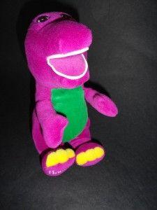 Barney Friend 9 Plush Toy Doll Purple Green Dinosaur PBS Kids