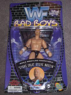 Jakks WWF Bad Boys Superstars Series 4 Stone Cold Steve Austin NIB WWE