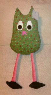 Pottery Barn Kids Large Brooke Plush Owl Joy New