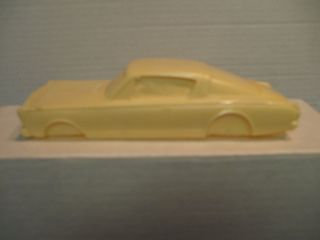 1966 Plymouth Barracuda Resin Body by Mad Dog Models