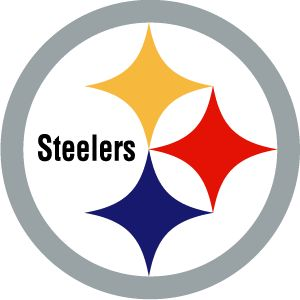 Pittsburg Steelers Cornhole Decals LARGE Bean Bag Toss Baggo Stickers