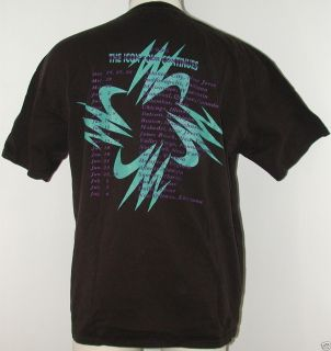 vtg Barry White Concert T shirt Icon is Love Tour 1990s XL size