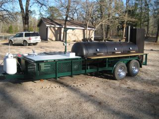 BBQ Smoker Trailer Pit Grill Rig The Ultimate Rig
