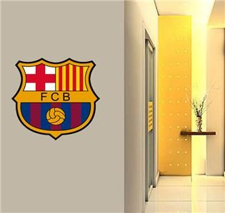 Barca Barcelona Wall Sticker Huge Soccer Decal 24in Football Worldwide