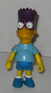Bartman Bart Simpson 1990 Mattel Action Figure Simpsons Bart Man