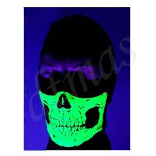 Winter Biker Motorcycle Balaclava Skull Ghost Ski Head Full Face Mask