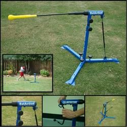 Youth BatAction Baseball/Softball Batting Machine