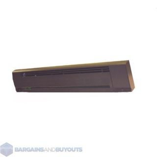 Style 240 Volt Electric Baseboard Heater   Commercial Brown
