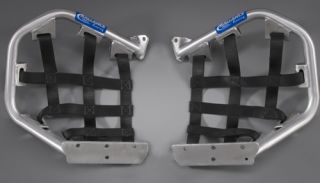 duty 1 webbing for durability. Bolts to the Ballance Racing Pro Pegs