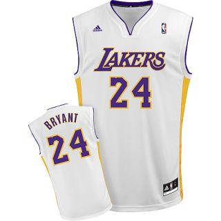 Los Angeles Lakers Kobe Bryant White Replica Jersey Sz 3XL