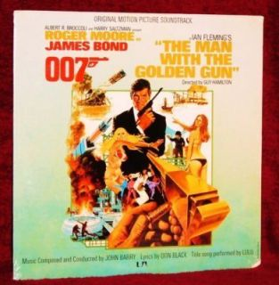 OST The Man with The Golden Gun John Barry Orig SEALED