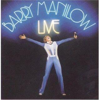 Barry Manilow Live Vinyl Record Album